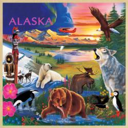 Alaska Wildlife Educational Children's Puzzles