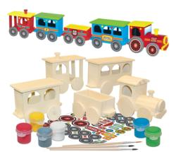 Works of Ahhh… Express Train Set Trains Arts and Crafts