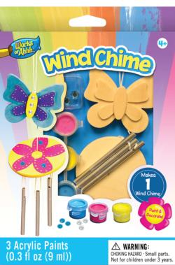 Mini Windchime Wood Kit Butterflies and Insects Arts and Crafts