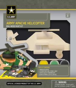 Army Apache Helicopter Military Arts and Crafts