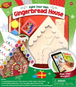 Gingerbread House Sweets Arts and Crafts
