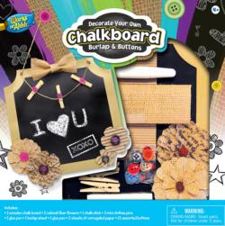 Chalkboard Kit – Burlap & Buttons Arts and Crafts