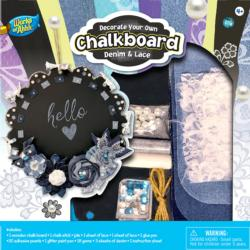 Chalkboard Kit – Denim & Lace