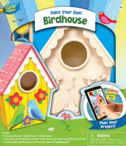 Birdhouse - Lovebirds Birds Arts and Crafts