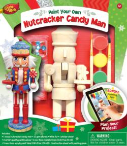 Nutcracker Candy Man Christmas Arts and Crafts