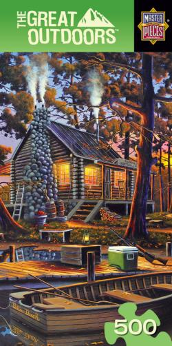 Duck Season Cottage / Cabin Jigsaw Puzzle