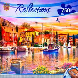 Sailor's Glow Sunrise/Sunset Jigsaw Puzzle