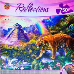 Clandestine Forest Tigers Jigsaw Puzzle