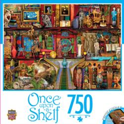 Treasured History (Once Upon a Shelf) Sci-fi Jigsaw Puzzle