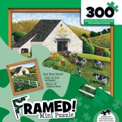 Daisy Field Farm (Mini) Cows Frame Puzzle