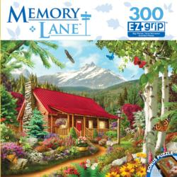 Mountain Hideaway (Memory Lane) Cottage / Cabin Large Piece