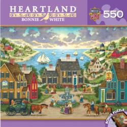 Mermaid's Watch (Heartland) Seascape / Coastal Living Jigsaw Puzzle