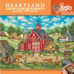 New Friends (Heartland) Folk Art Jigsaw Puzzle