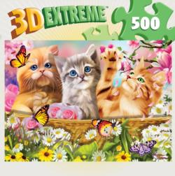 Cuddly Kittens Baby Animals Lenticular