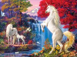 Dream World Waterfalls Jigsaw Puzzle