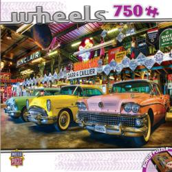 Three Beauties (Wheels) Nostalgic / Retro Jigsaw Puzzle