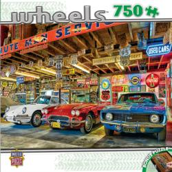 Triple Threat (Wheels) Nostalgic / Retro Jigsaw Puzzle