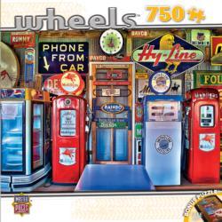 Classic Gas Nostalgic / Retro Jigsaw Puzzle