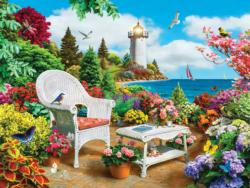 Memories (Lazy Days) Seascape / Coastal Living Jigsaw Puzzle