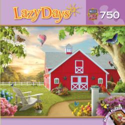 Morning Song (Lazy Days) Flowers Jigsaw Puzzle
