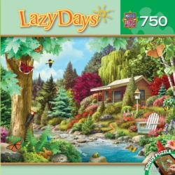 Time to Relax (Lazy Days) Cottage/Cabin Jigsaw Puzzle