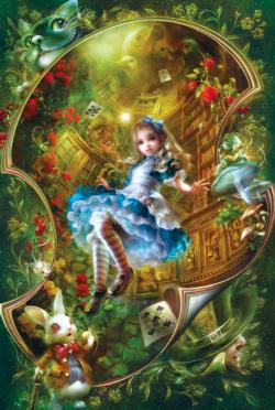 Alice in Wonderland Movies / Books / TV Tin Packaging