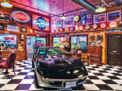 Black Beauty Nostalgic / Retro Jigsaw Puzzle
