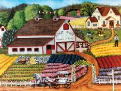 Fresh Flowers (Homegrown) Countryside Jigsaw Puzzle