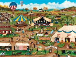 Country Fair (Homegrown) Americana & Folk Art Jigsaw Puzzle