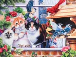 Springtime Wonders (Family Hour) Cats Family Puzzle
