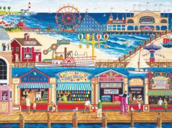 Ocean Park (Family Hour) Seascape / Coastal Living Family Puzzle