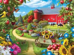 Apple of my Eye Farm Family Puzzle