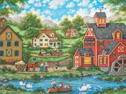Heartland Collection - Swan Pond Lakes / Rivers / Streams Jigsaw Puzzle