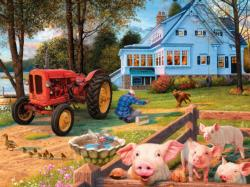 Welcome Home Pig Jigsaw Puzzle