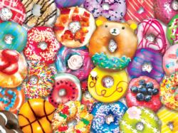 Donut Resist Family Fun Large Piece