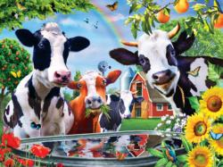 Moo Love Farm Animals Children's Puzzles