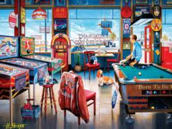 Pockets Pool & Pub Nostalgic / Retro Jigsaw Puzzle