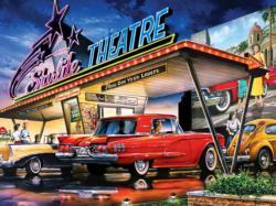 Starlite Drive-In Nostalgic / Retro Jigsaw Puzzle