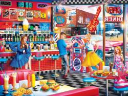 Good Times Diner Nostalgic / Retro Jigsaw Puzzle