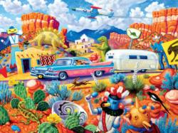 Off the Beaten Path Nostalgic / Retro Jigsaw Puzzle