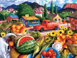 Summer Fresh Landscape Jigsaw Puzzle