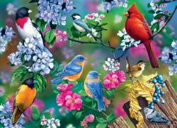 Songbird Collage Collage Jigsaw Puzzle