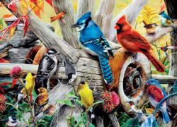 Backyard Birds Birds Jigsaw Puzzle