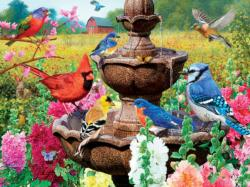 Garden of Song Flowers Jigsaw Puzzle