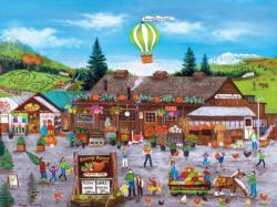 Sunny Farms Americana & Folk Art Jigsaw Puzzle