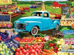 Locally Grown Nostalgic / Retro Jigsaw Puzzle