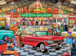 The Auctioneer Nostalgic / Retro Jigsaw Puzzle