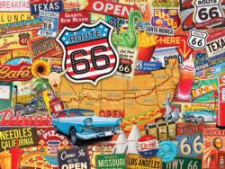 Route 66 Collage Impossible Puzzle