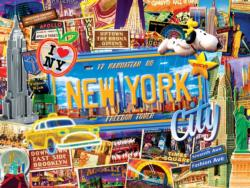 New York City Collage Jigsaw Puzzle