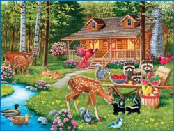Creekside Gathering Cottage / Cabin Family Puzzle